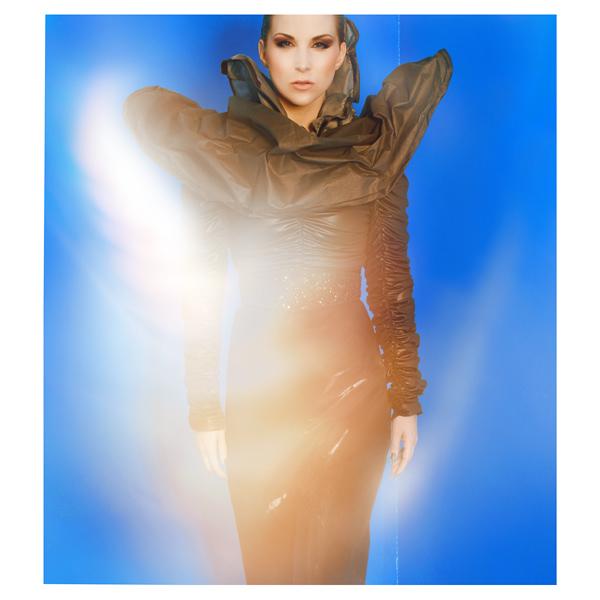 Artwork mit Model Vanessa ©Anna-Marina Roth