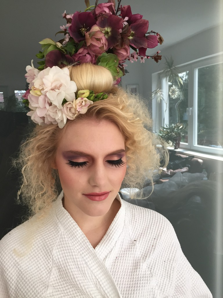Making Of - Cherry Blossom Variante 1