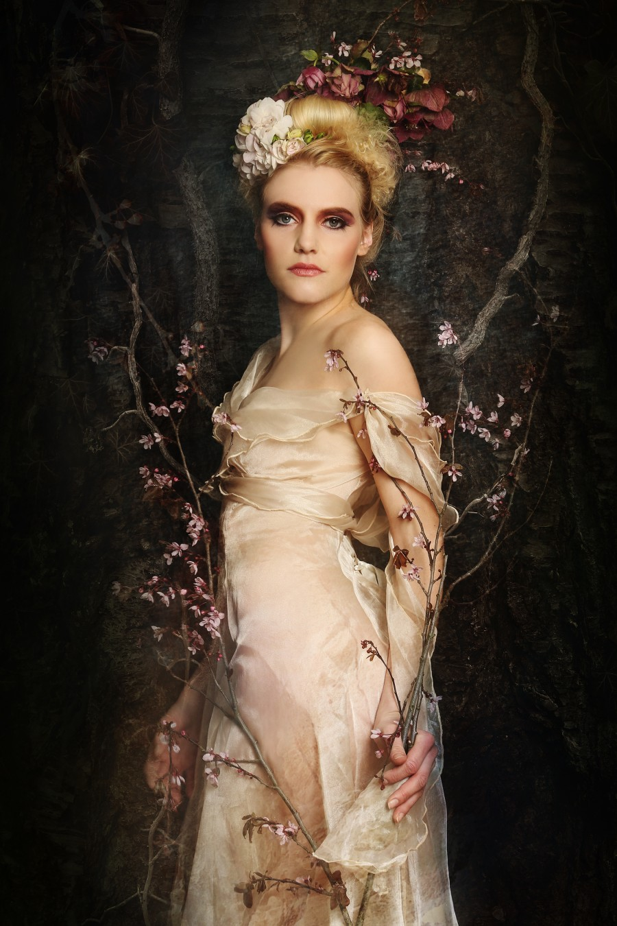 Artwork mit Model Melli bei Künstlerin Benita Heldmann